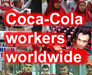 Logo Coca-cola workers